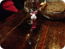 Bunny at the evening party